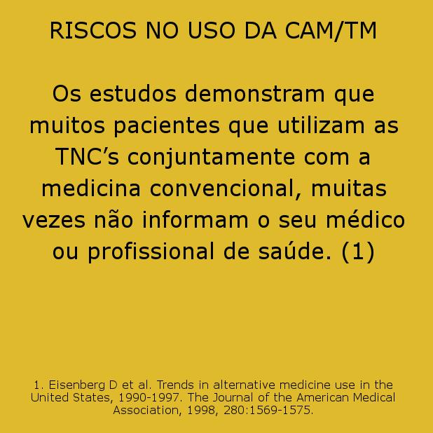 Riscos no uso das TNC's